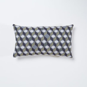 Small Cubes Cushion Rectangular