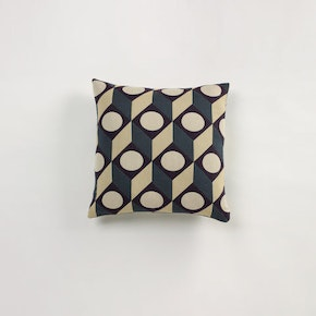 Large Cubes Cushion Square