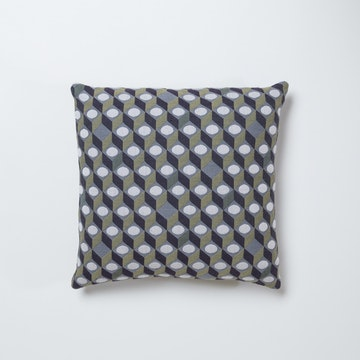 Small Cubes Cushion Square