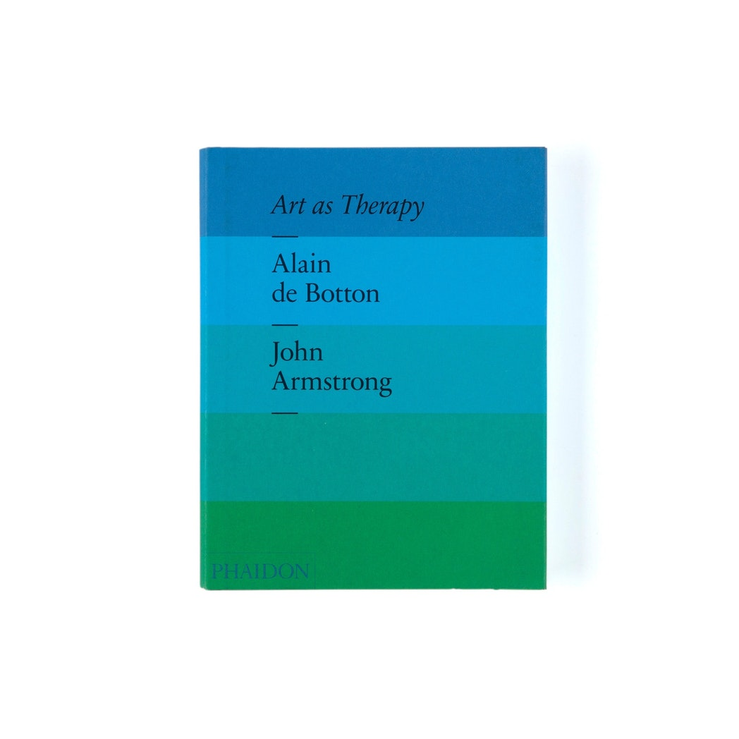 Art as Therapy book by Alain de Botton