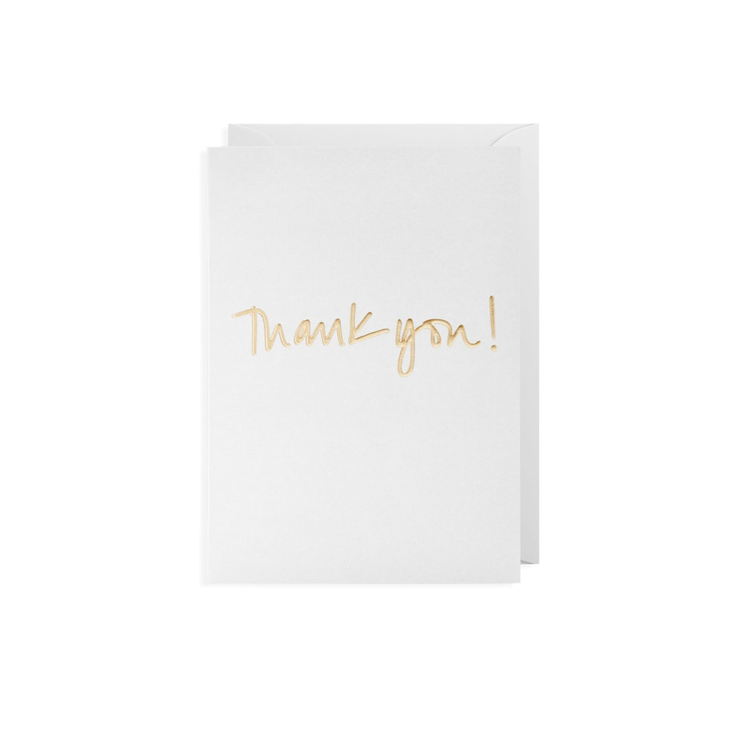 'Thank You!' Card