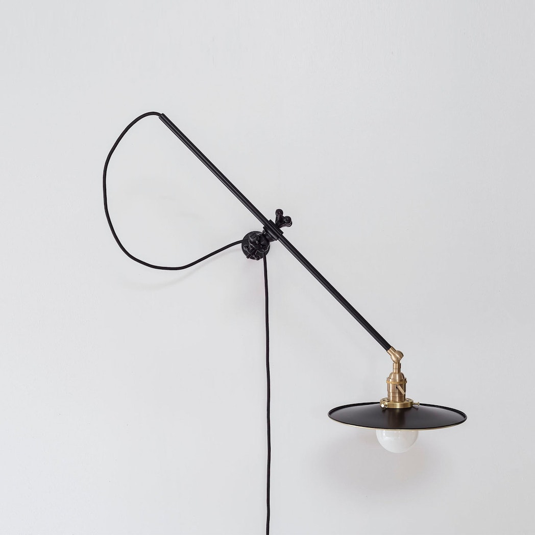 Workstead Black Wall Lamp