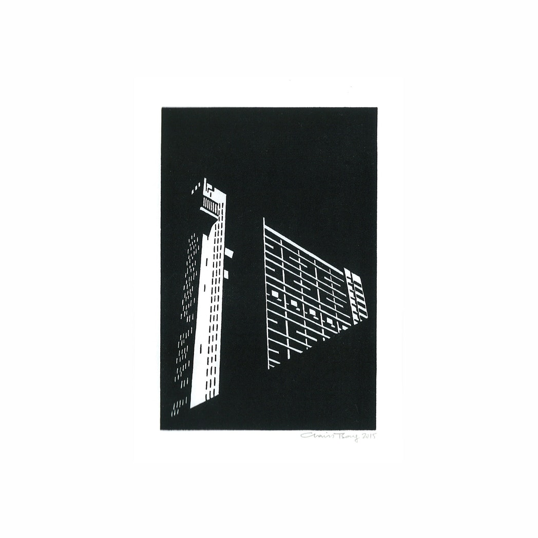 Trellick Tower Greeting Card