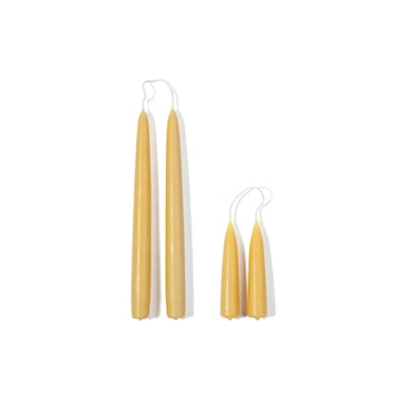 Two Beeswax Candles
