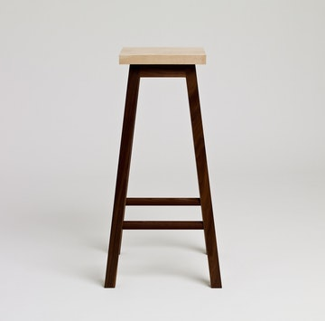 Bar Stool Two, Ash & Walnut