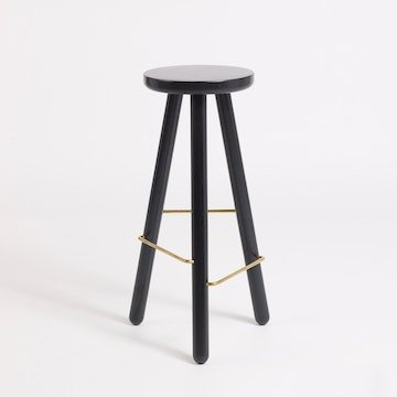 Bar Stool One, Black