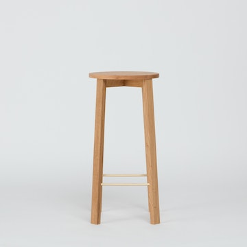 Bar Stool Four, Oak
