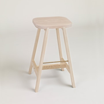 Bar Stool Three, Beech
