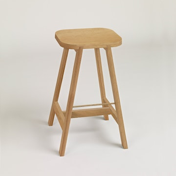 Bar Stool Three, Oak