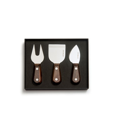 Rosewood Cheese Set