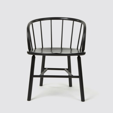 Hardy Chair, Dark Grey (Oak)