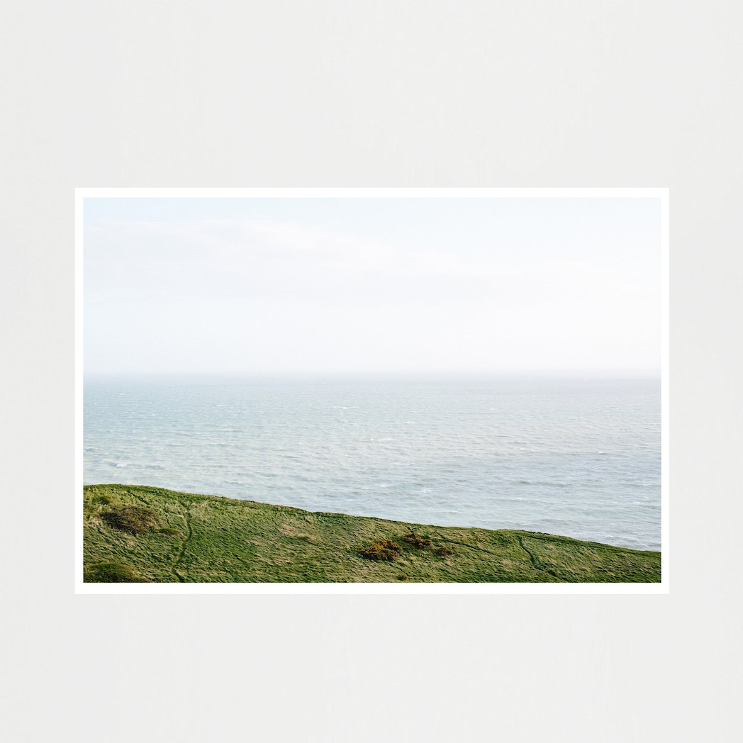 Dorset Series Print - Land Meets Sea