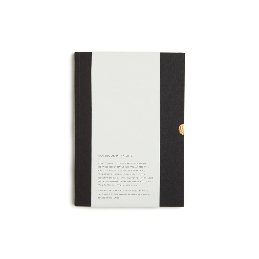 Notebook Mark One, Black