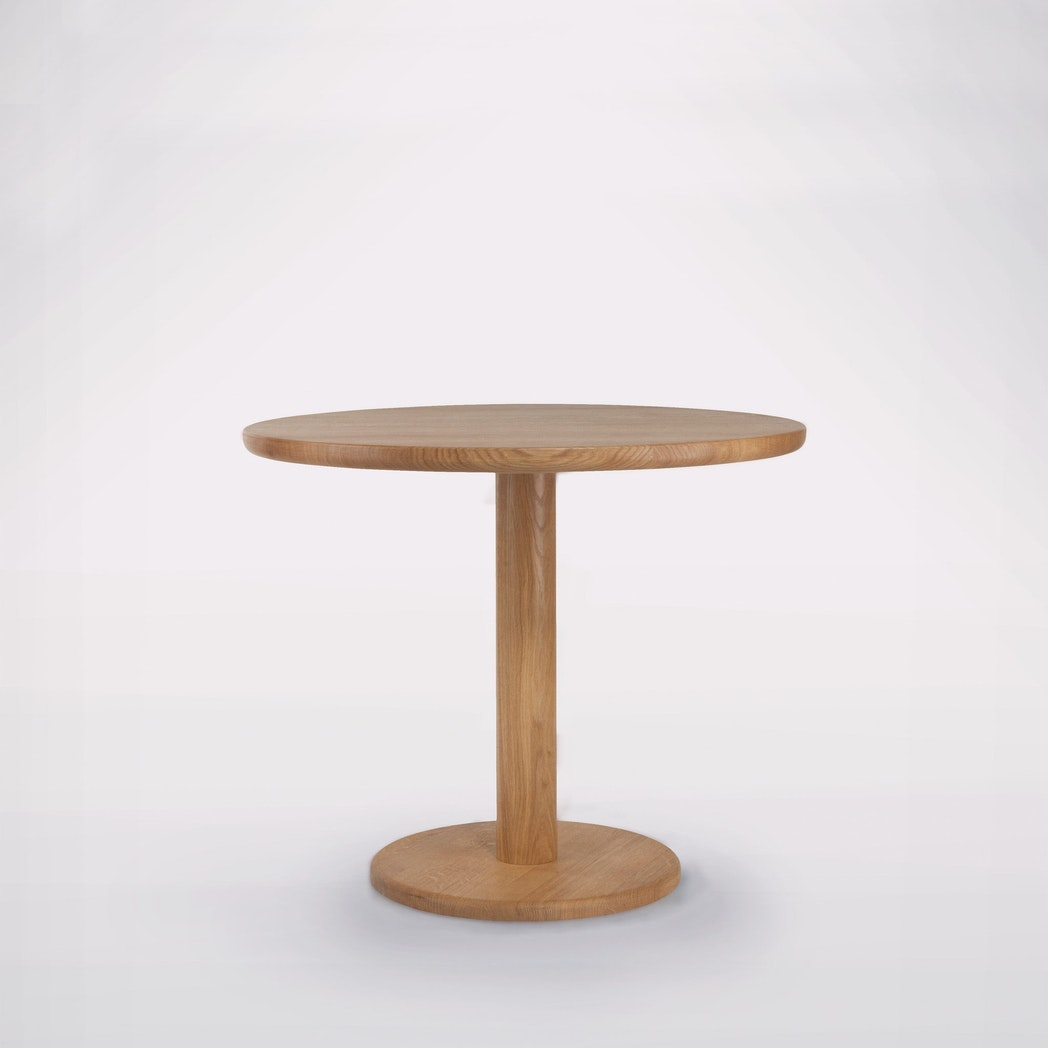 Pedestal Table One, Round