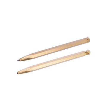 Krama Rollerball Pen - Raw Brass