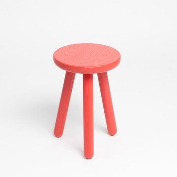 Stool One, Red