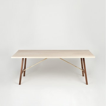 Dining Table Two, Ash & Walnut