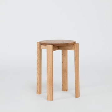 Stool Four, Oak