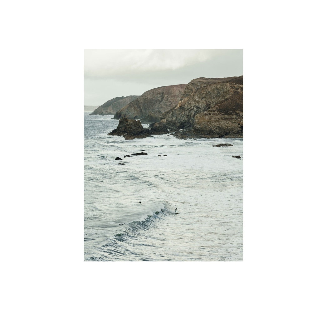 Trevaunance Cove II Print