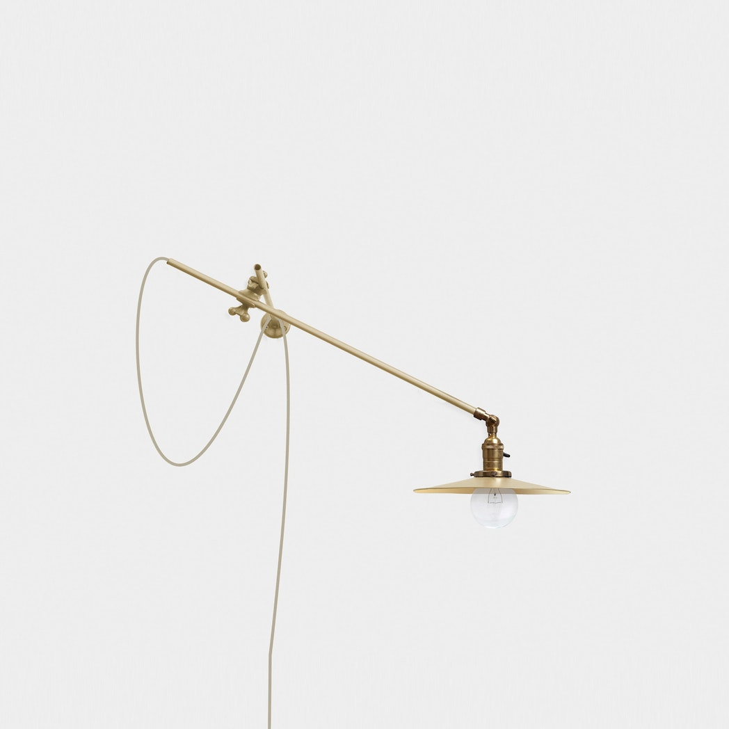 Workstead Brass Wall Lamp